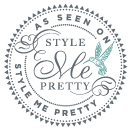 Emma and Danny's wedding featured on  Style Me Pretty !!