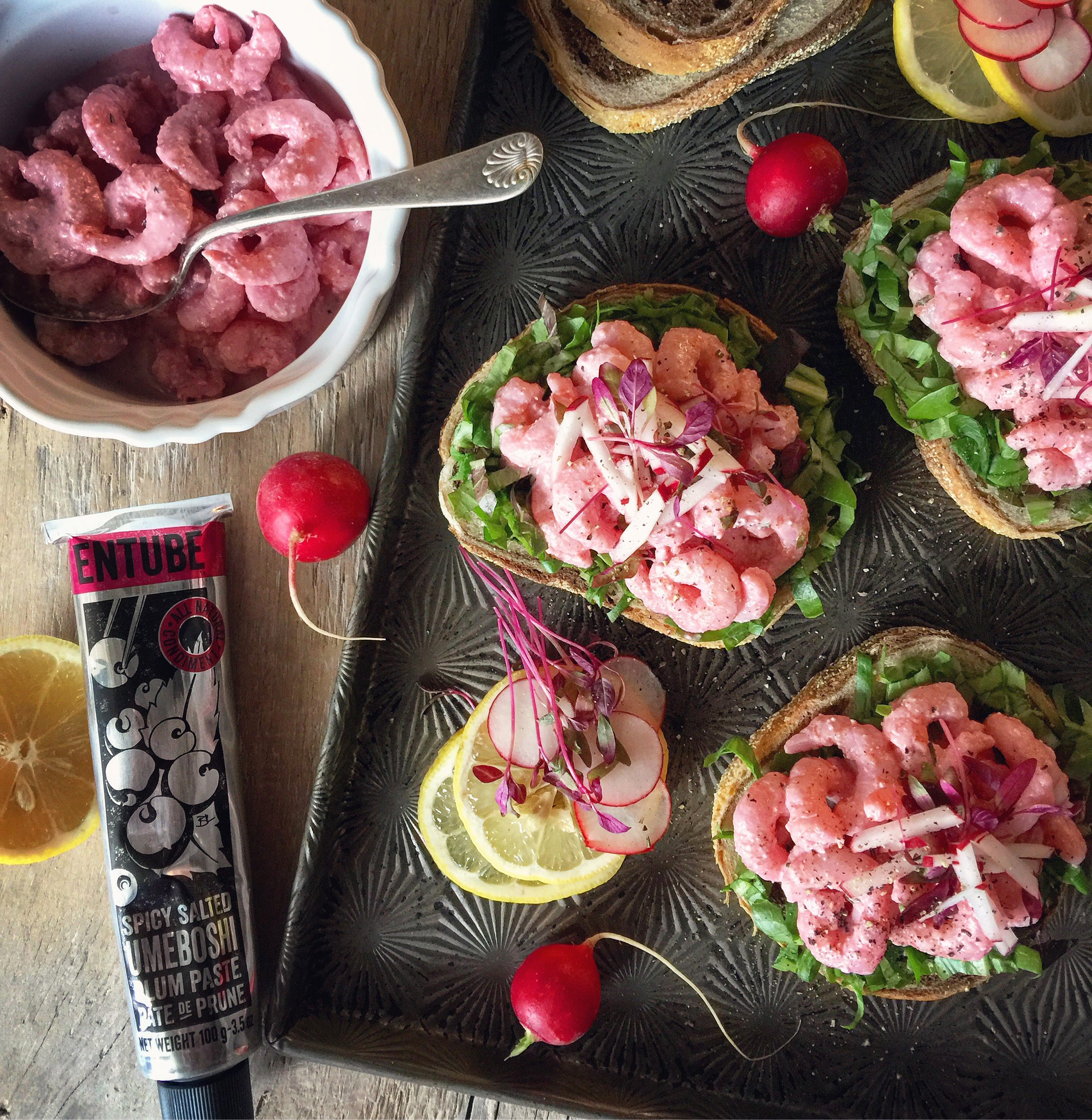 UMEBOSHI SHRIMP TOAST
