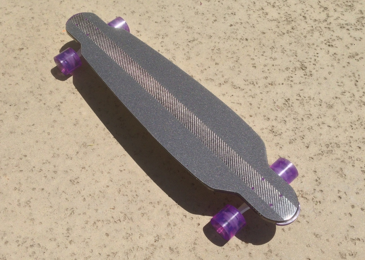 First longboard pull off the new mold!