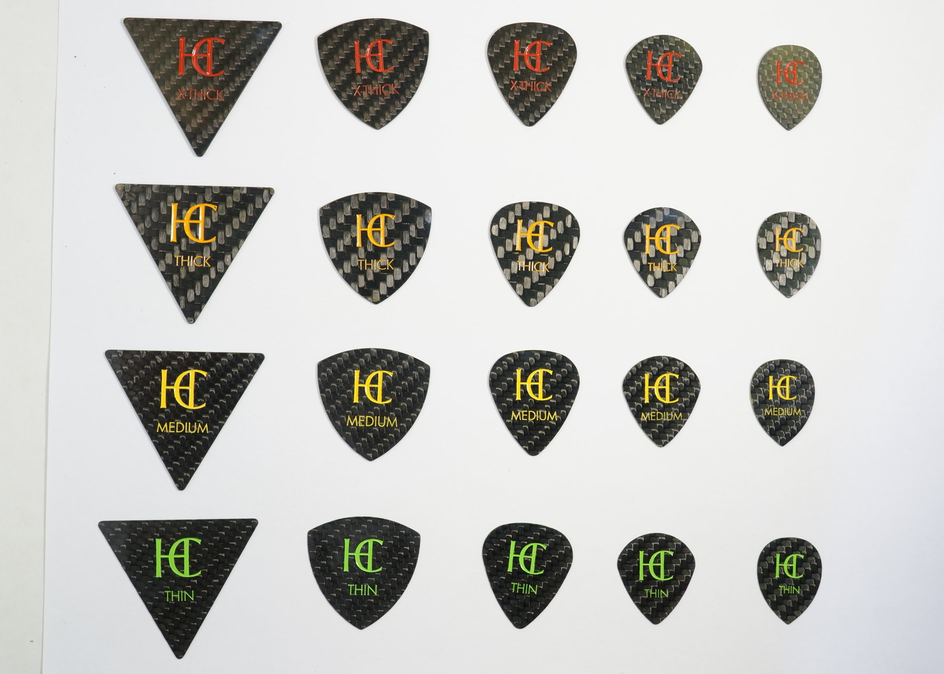 Custom Logo Guitar Picks