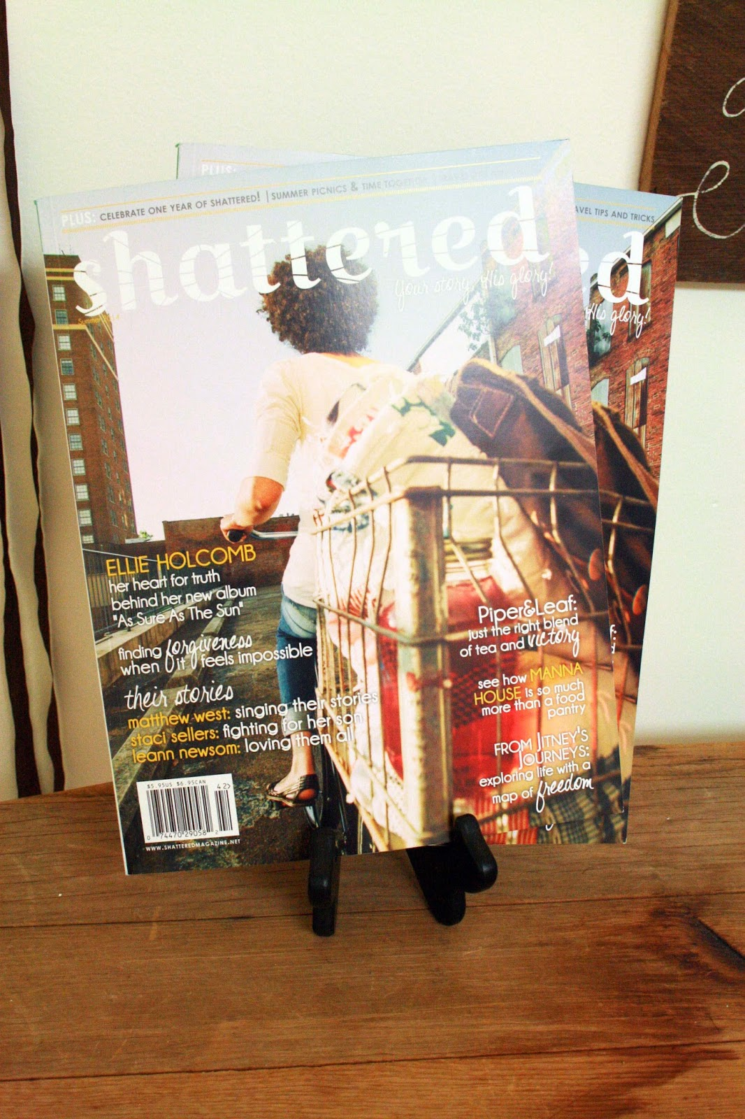(2) Subscriptions to  Shattered Magazine