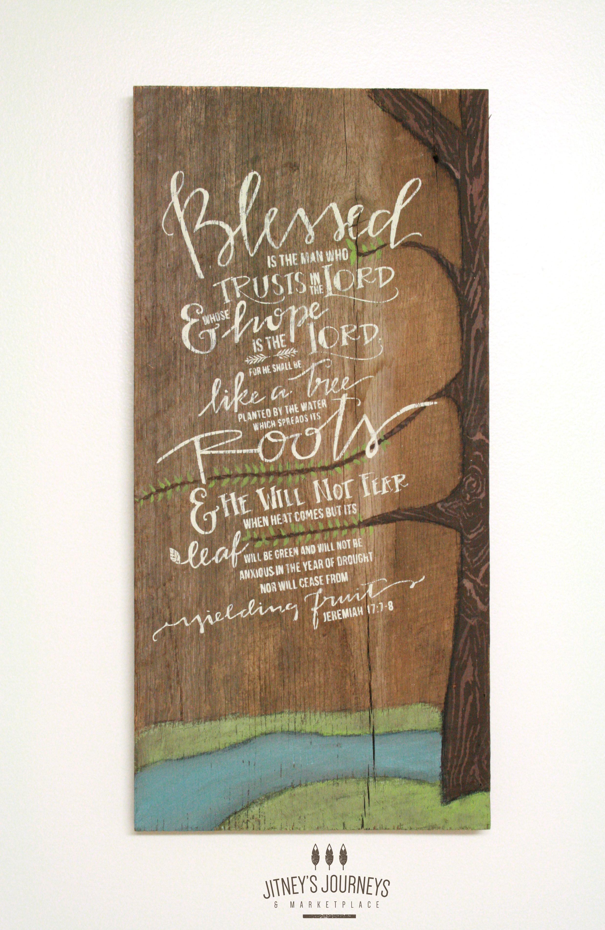 Jitneys Journeys Barnwood Custom Artwork