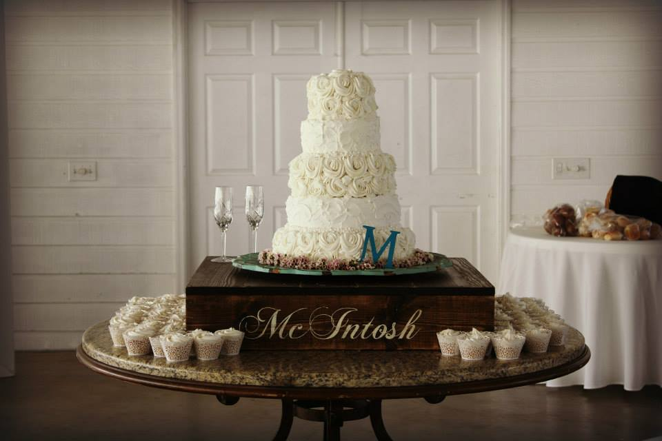 Wedding Cake Riser by Jitney's Journeys / Decor by Shabby & Chic Events/Rentals