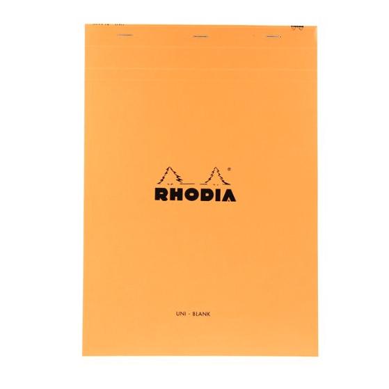 Rhodia Top Staplebound No. 18 Notepad (8.25 x 11.75)