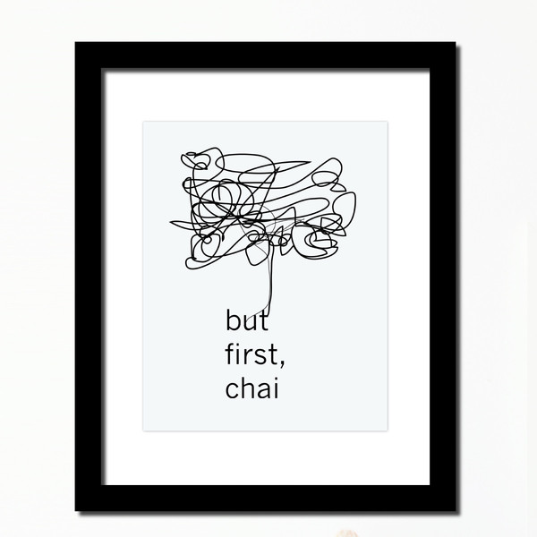 but first chai by craft street design