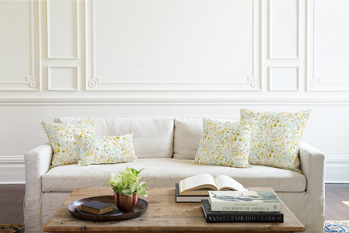 Home Decor Pillows - Awakening Fabric at Minted - Designed by Whitney Todd