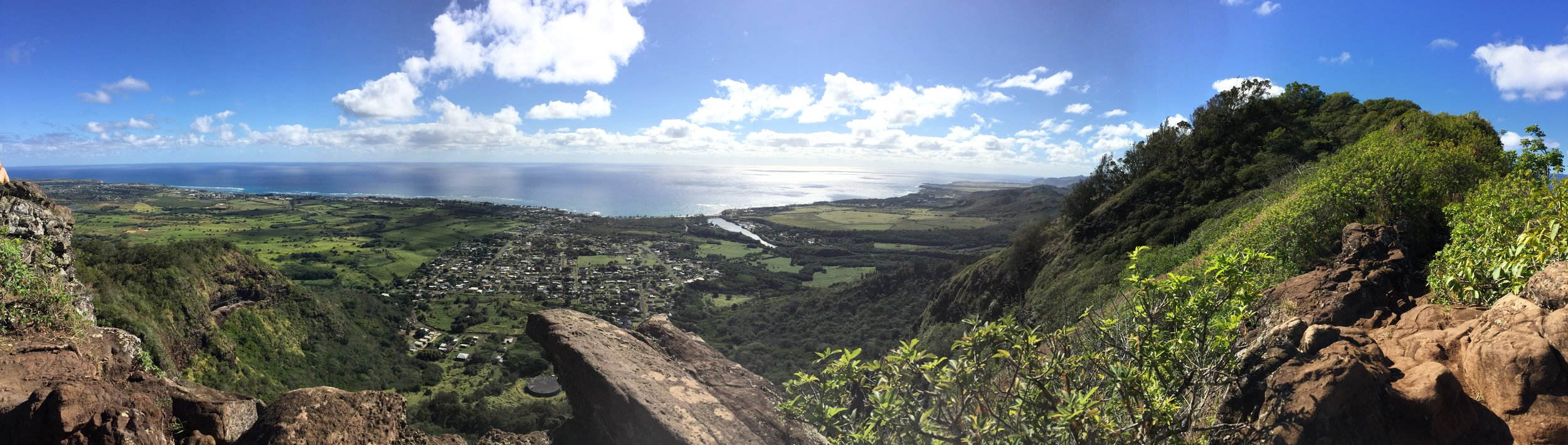Views from The Sleeping Giant - Kauai, Hawaii - via Jitneys