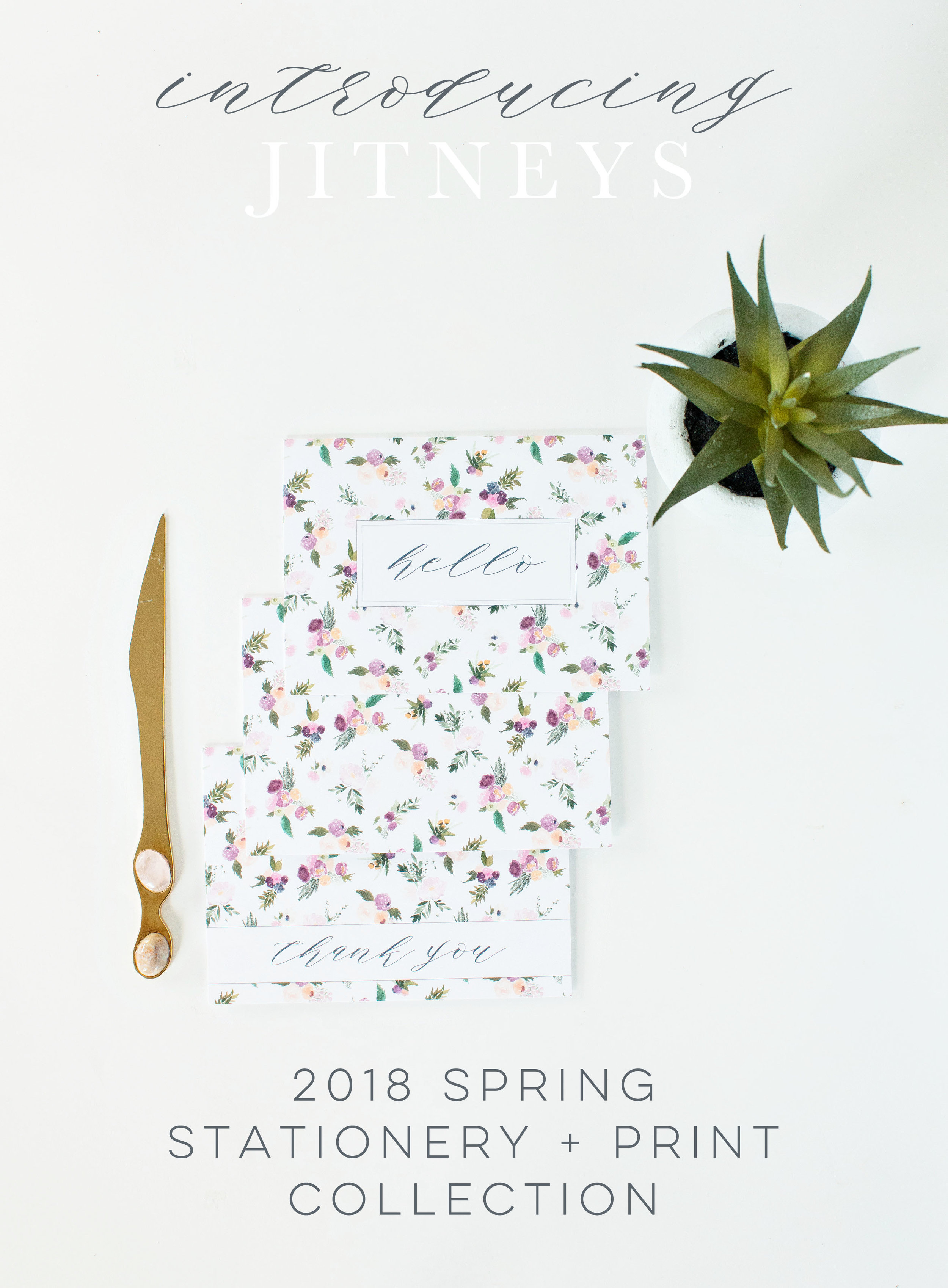 2018 Spring Stationery and Print Collection