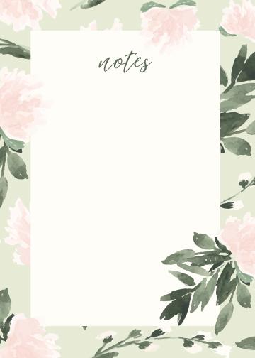 Notes: Joyful Growth Mint