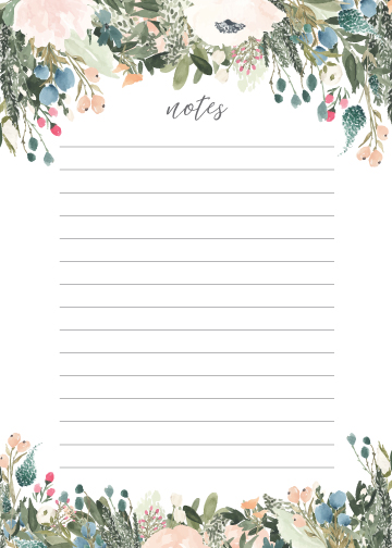 Notes: Blush & Olive