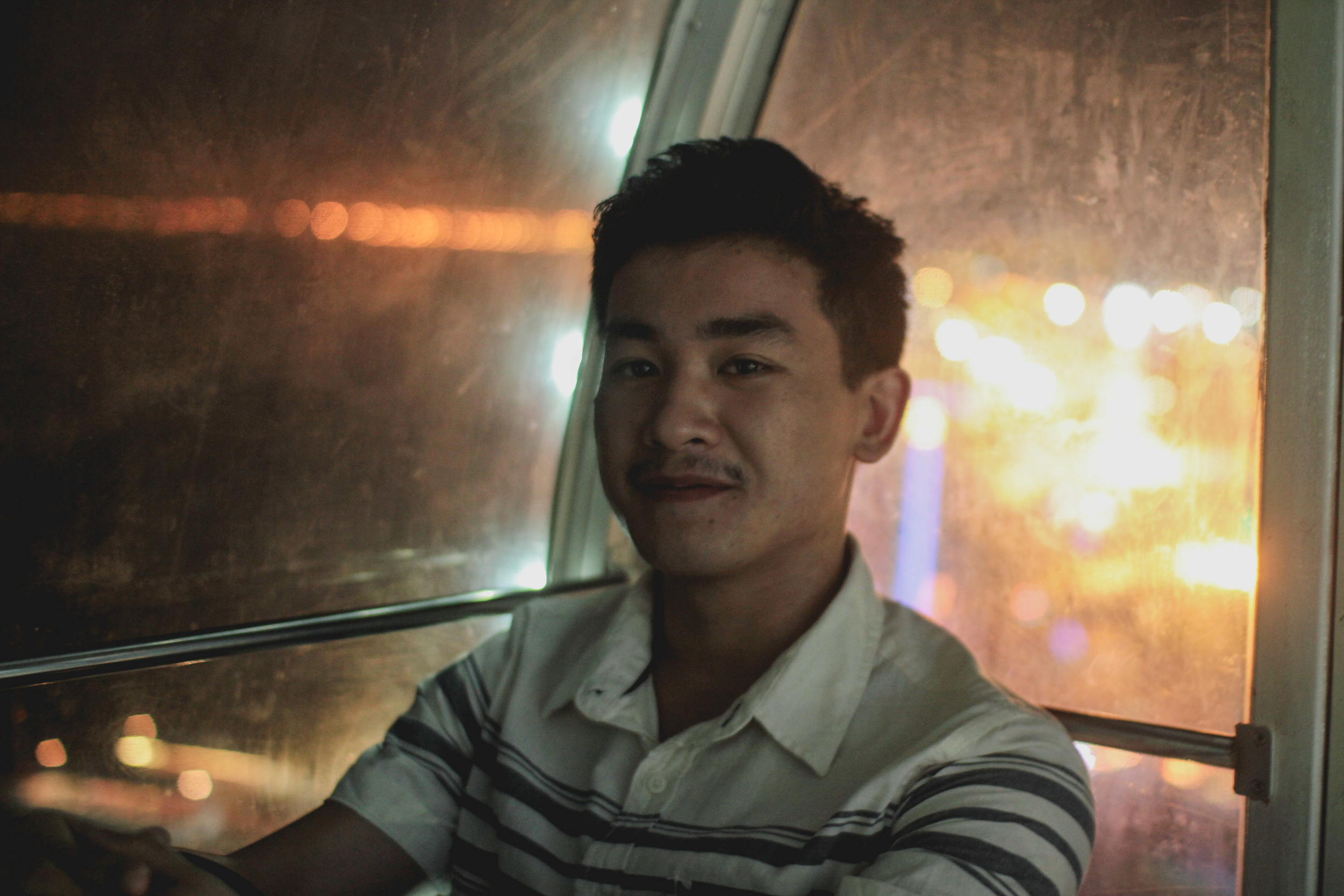 Ellis on the ferris wheel | Manila, Philippines
