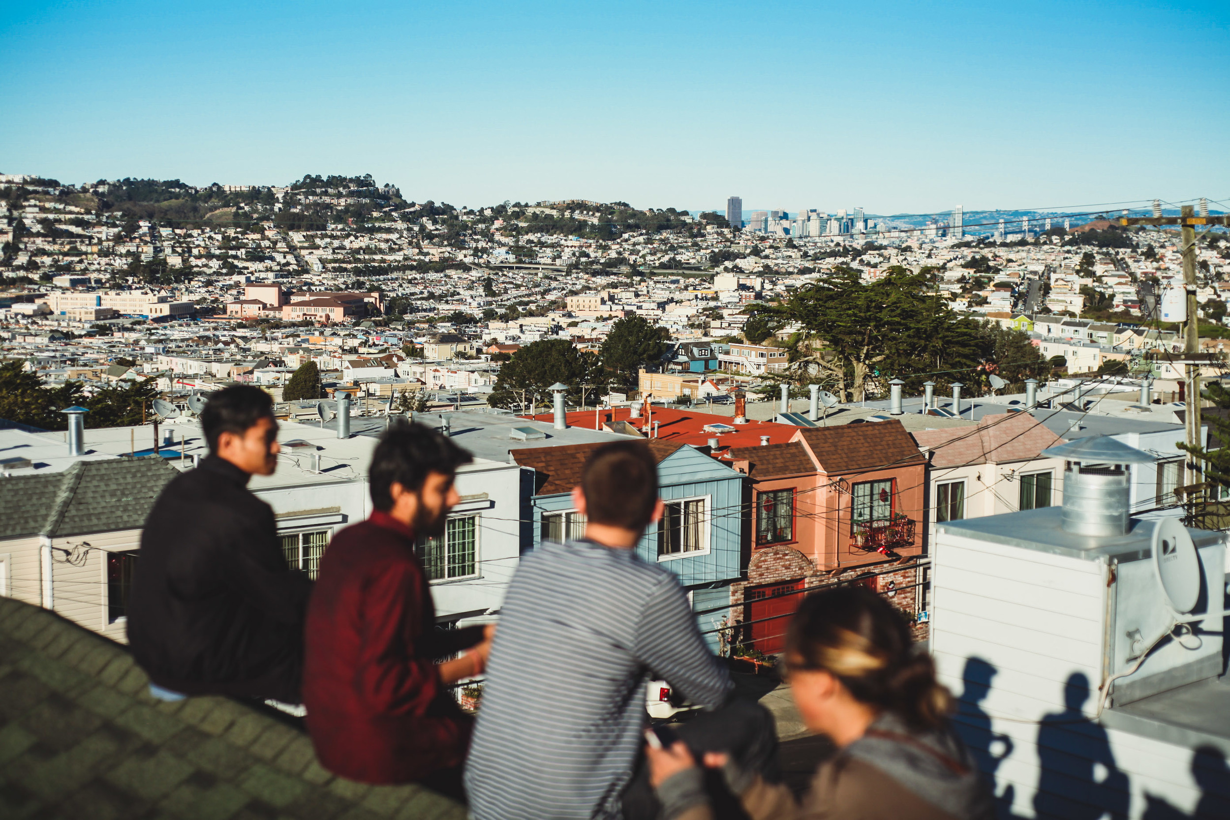 brother's rooftop | Daly City, CA