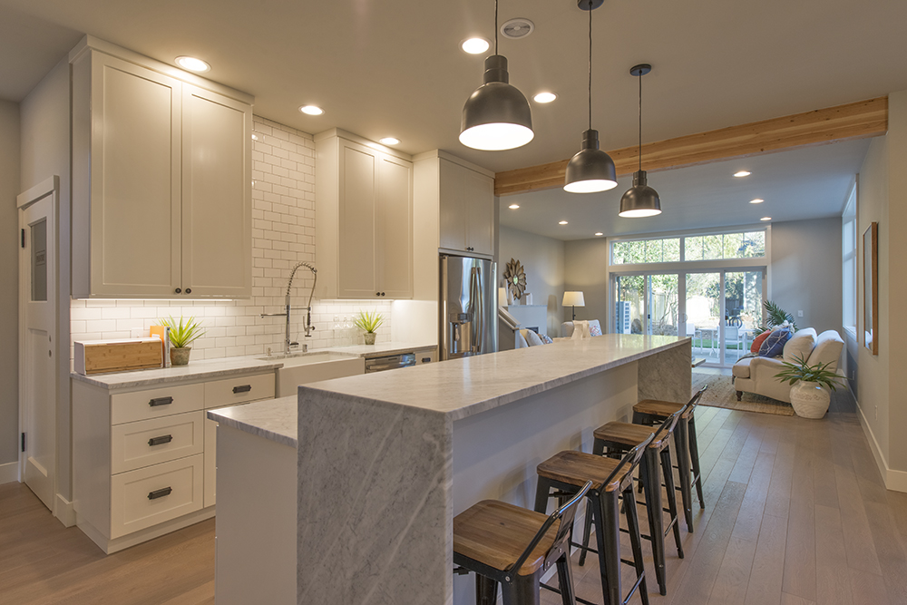 Attractive Net-Zero Home Kitchen