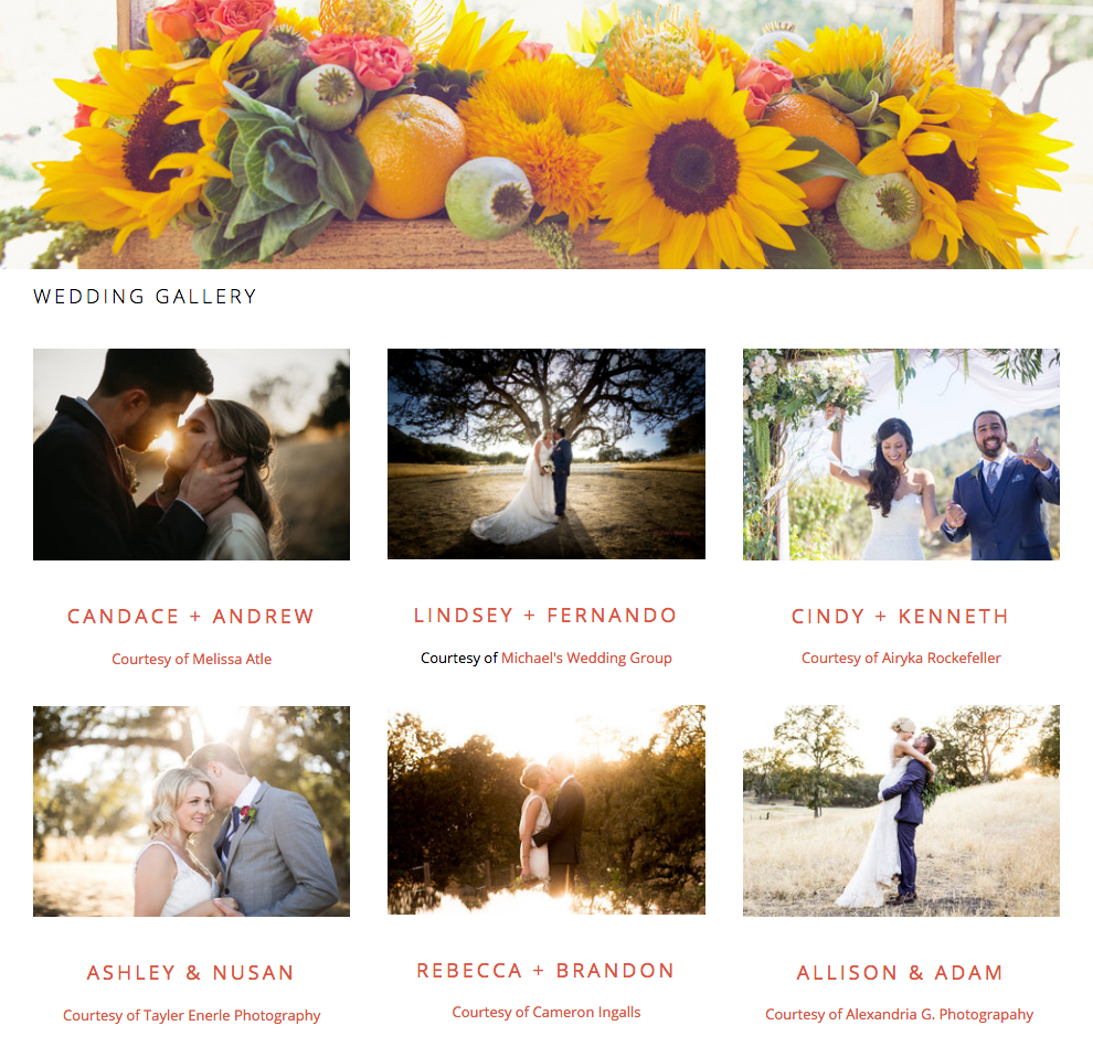 Click here to view our past weddings - Imagine the possibilities...