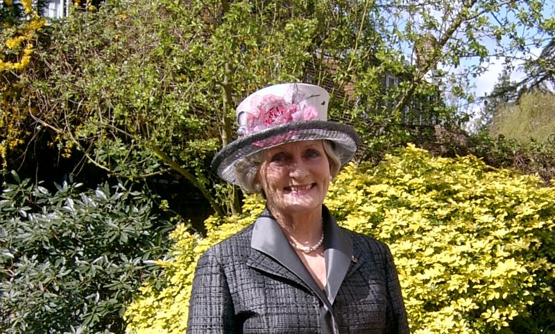Mrs June O'Donnell, royal wedding guest.JPG