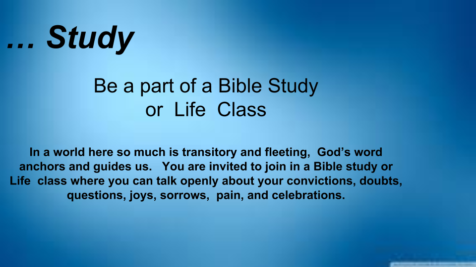 Click to Join a  STUDY