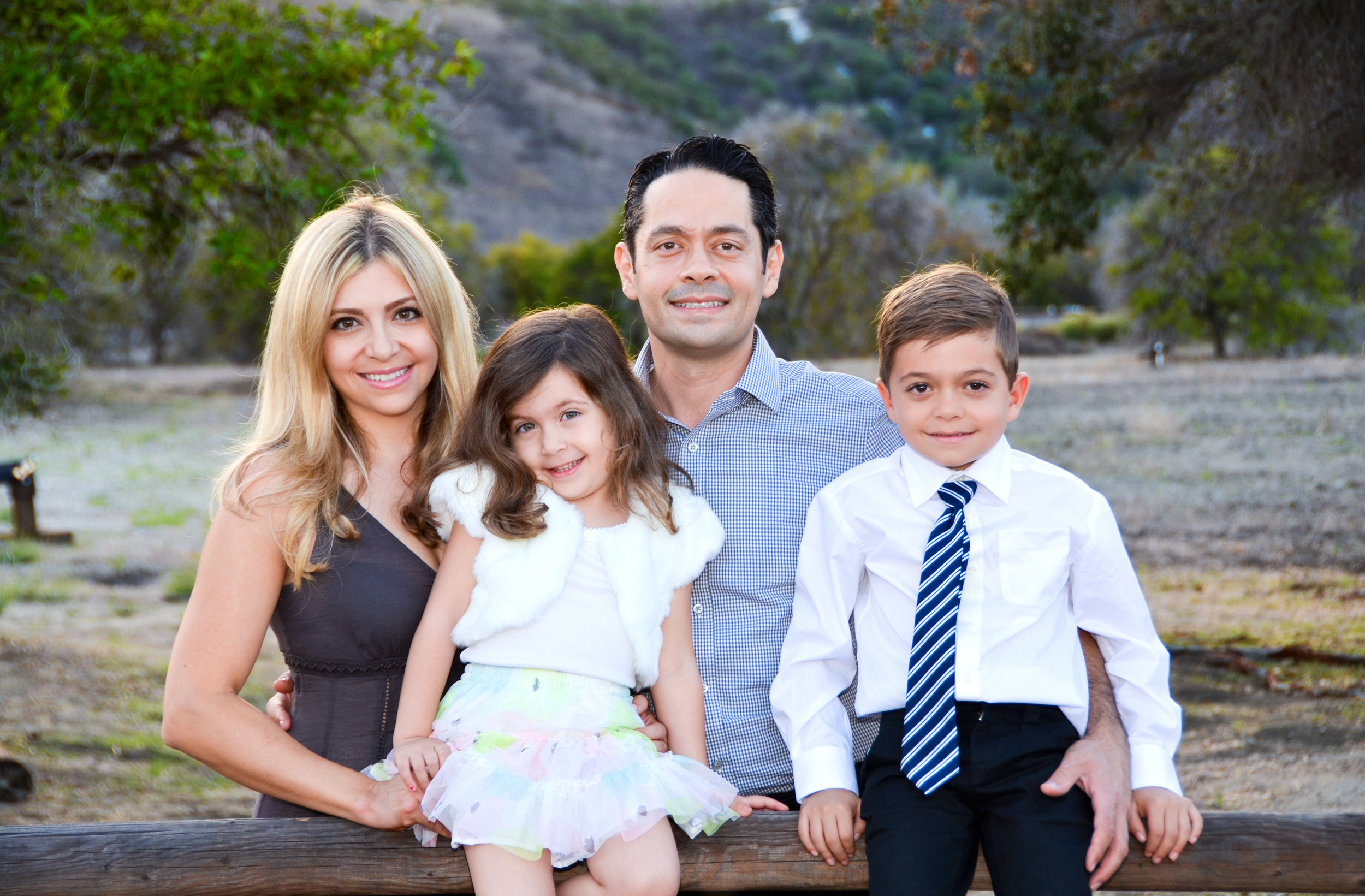 Dr. Michael Mostofi and Family.