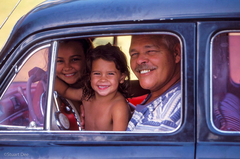 Fathers & Daughters, Varadero, Cuba