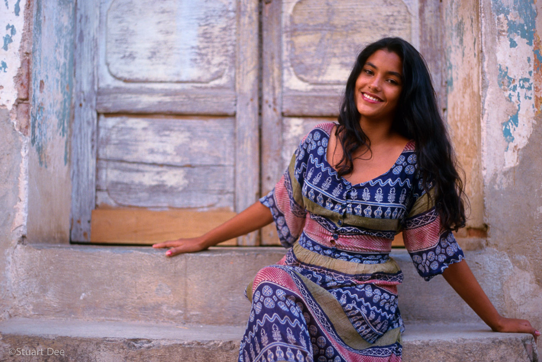 Young woman, Trinidad, CubaR