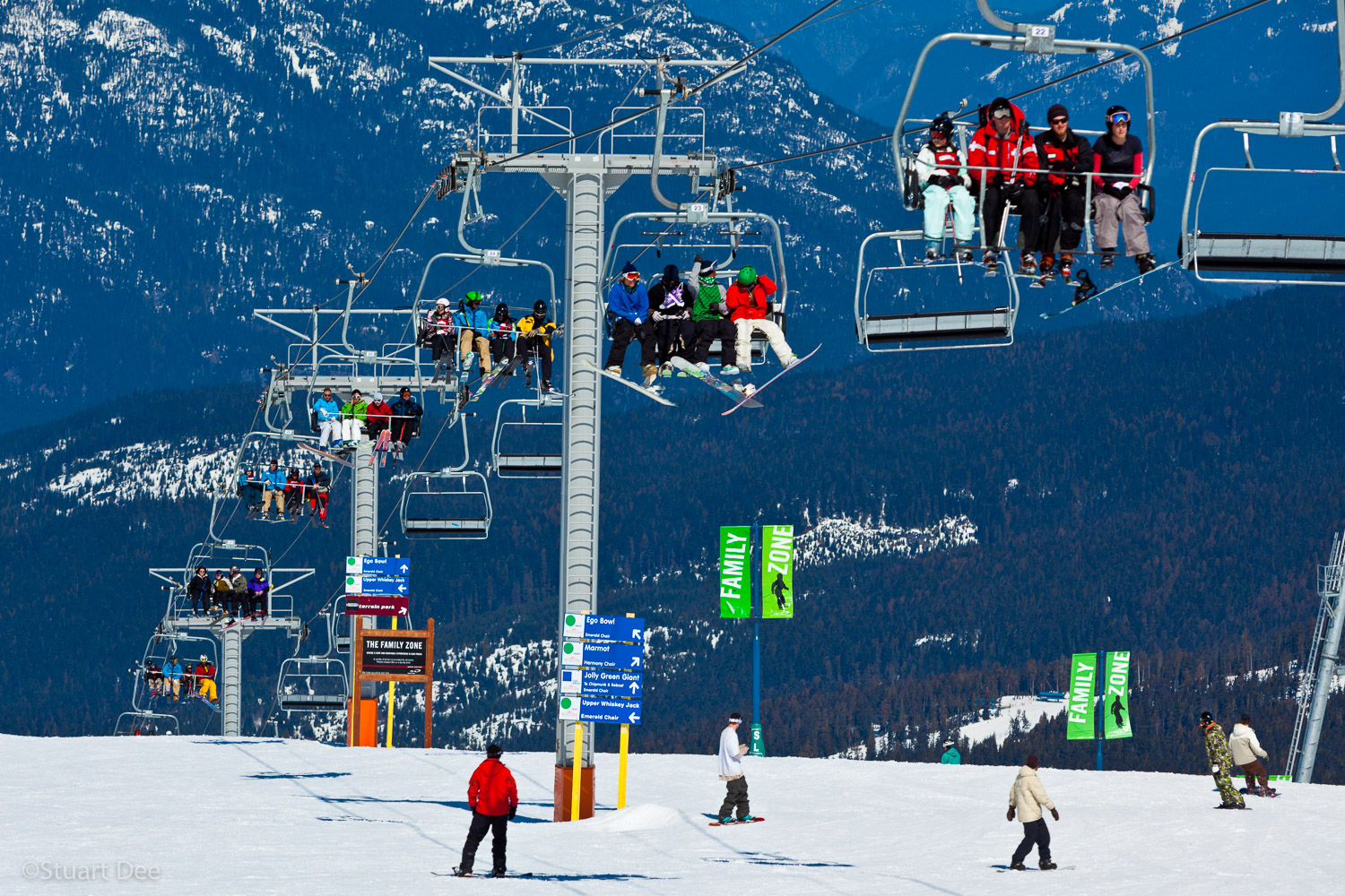 Whistler Blackcomb Ski Resort, Whistler, BC, Canada. Whistler Blackcomb is the largest ski resort in North America, and is consistently ranked as the top ski resort in the world.