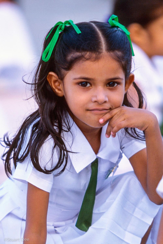 Schoolgirl, Male, Maldives