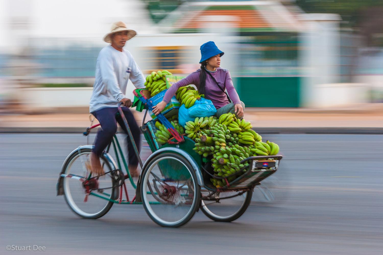 Sisowath Quay, Phnom Penh, Cambodia