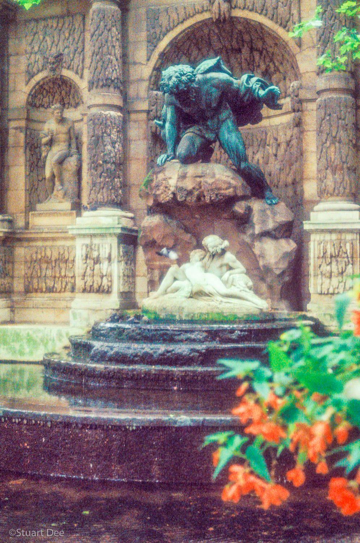 Fontaine De Medici, Jardin Du Luxembourg, Paris, France