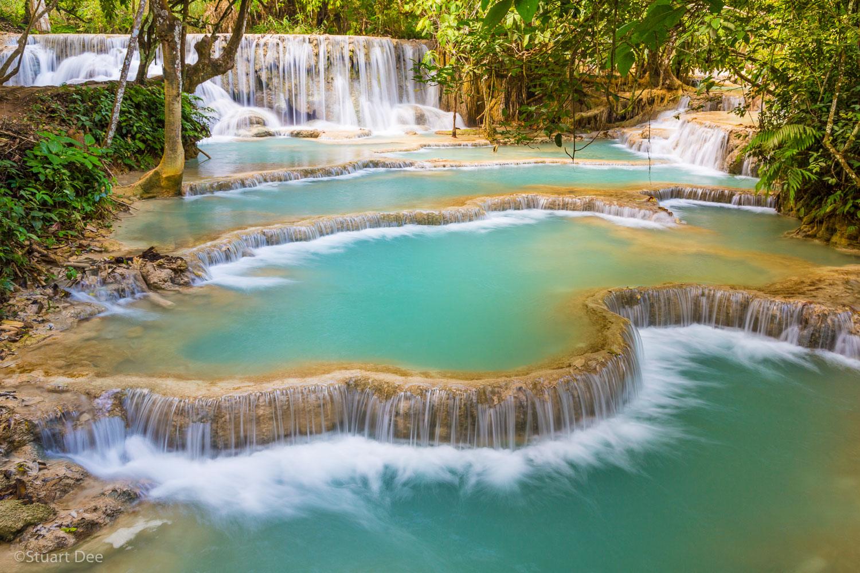 Kuang Xi Falls, Luang Prabang, Laos