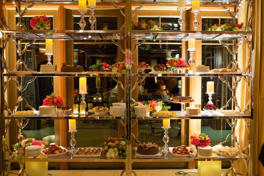 Flowers | Nancy Liu Chin Designs  Invitations |  Ceci of New York   Rentals |  Hartmann Studios   Lighting |  Enhanced Lighting   Venue |  Sharon Heights Country Club