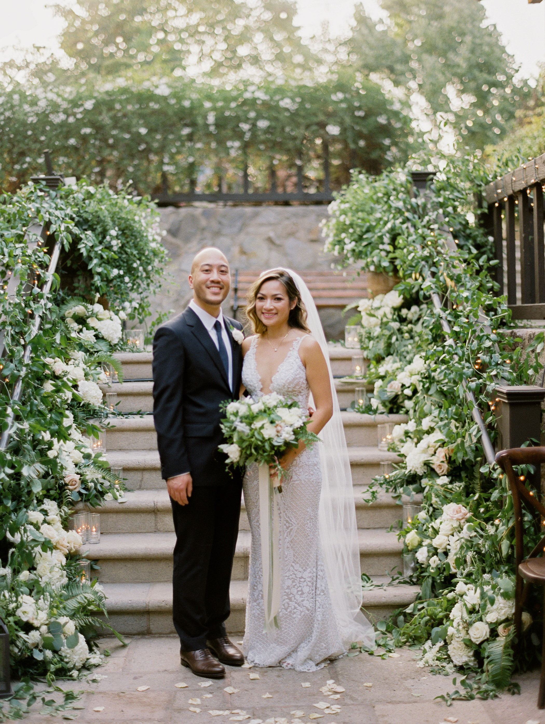 Venue | V. Sattui Winery  Photography | Coco Tran  Rentals | Encore Event Rentals  Flowers | Nancy Liu Chin Designs