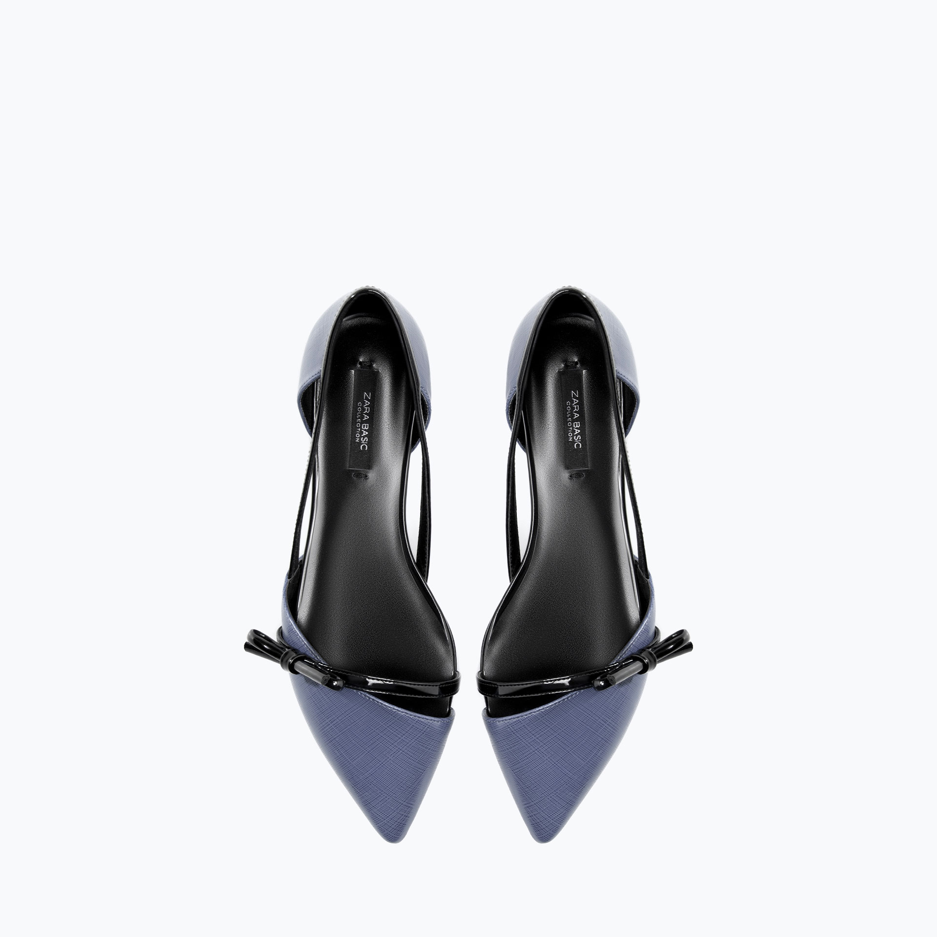 Zara, Flat Shoes with Bow £19.99