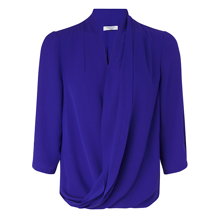 John Lewis Collection, Wrap Front Blouse £45