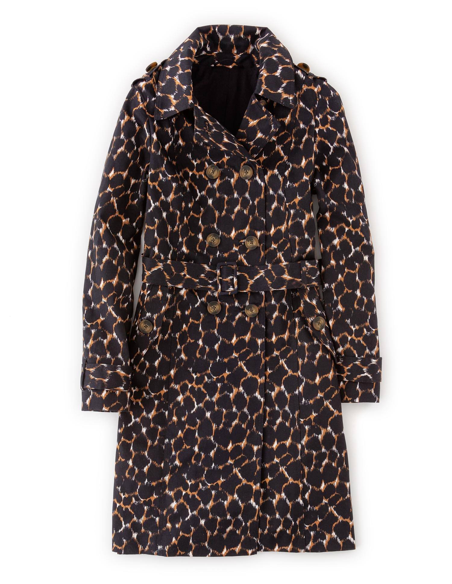 Boden, Leopard Print Trench £129