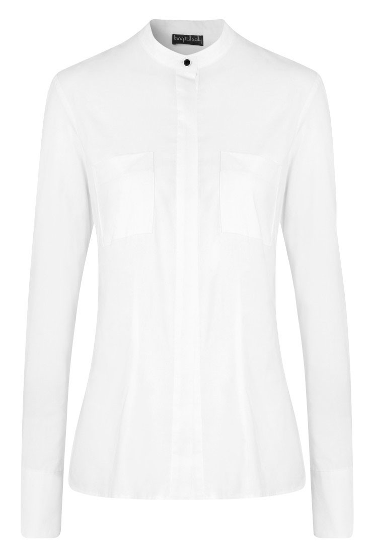 Long Tall Sally, Collarless Shirt £50