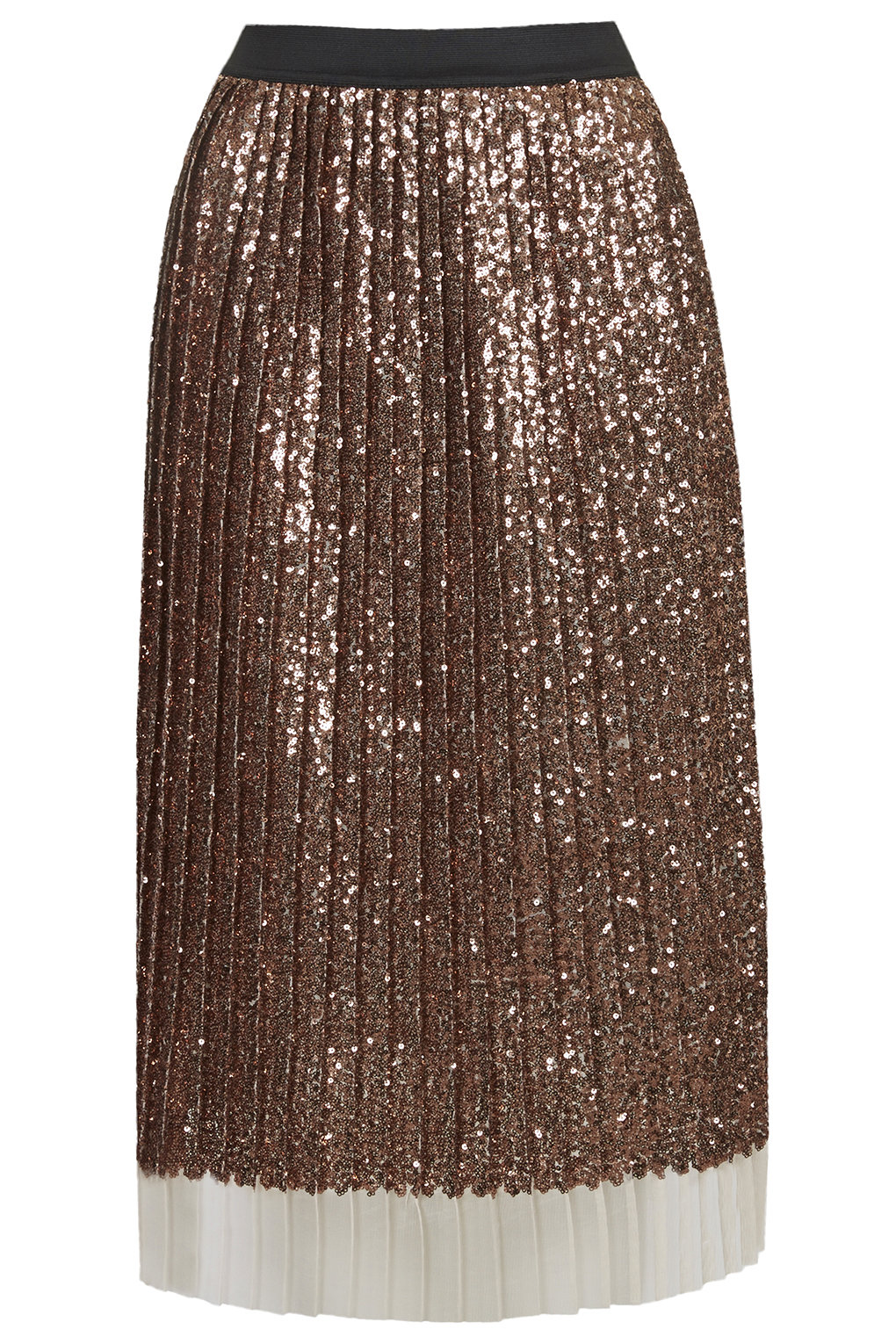Topshop, Sequin Pleated Skirt £75
