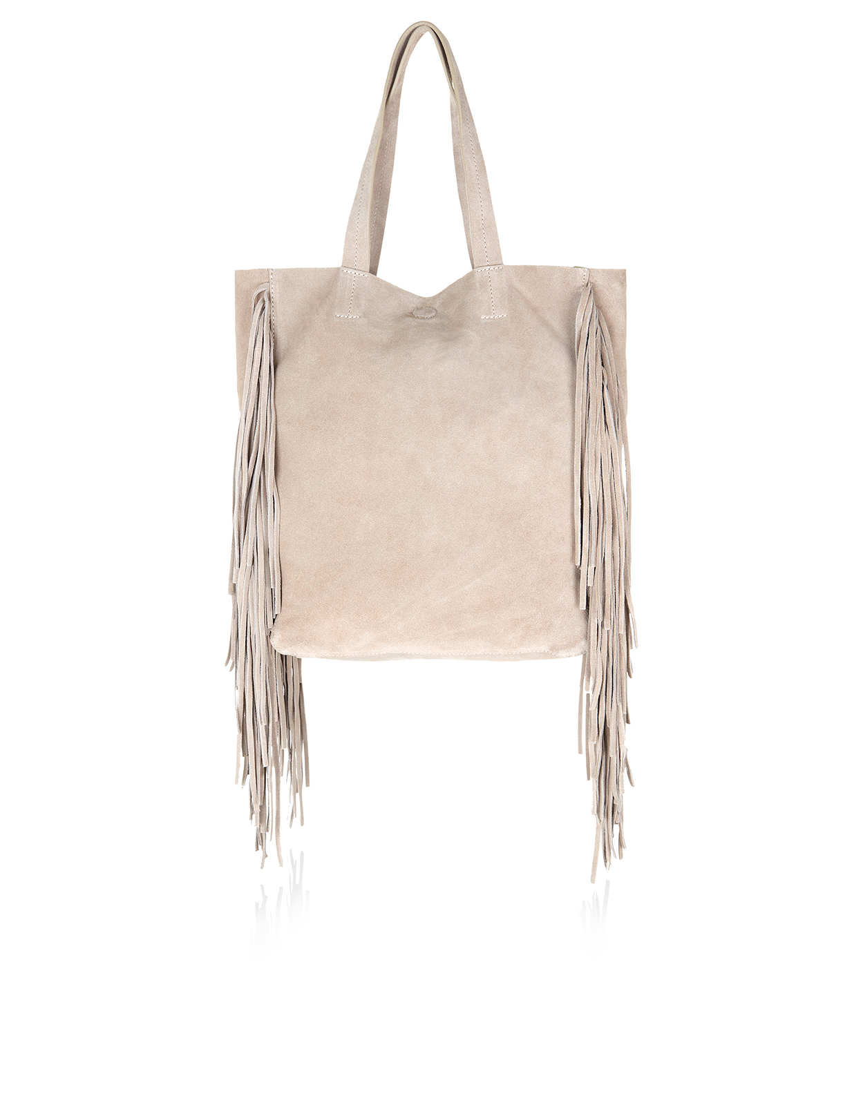 Accessorize, Leather Fringed Tote Bag £55