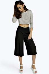 Boohoo, Esme Flat Front Woven Culottes £18