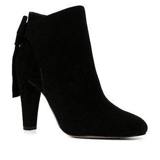 Love the bow detail on this suede boot! Also available in Beige.  Aldo, £90