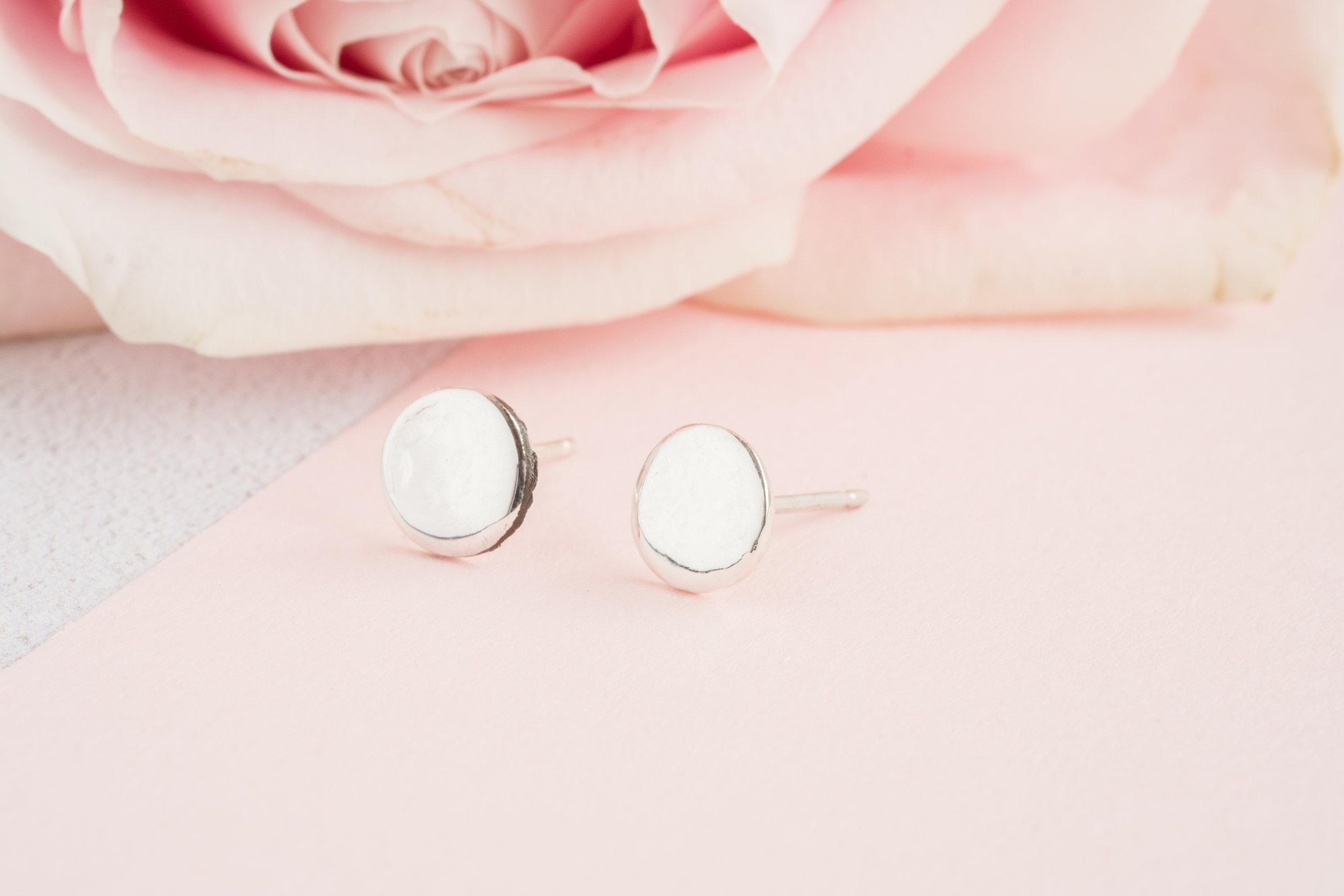 Coin Stud Earrings, £22