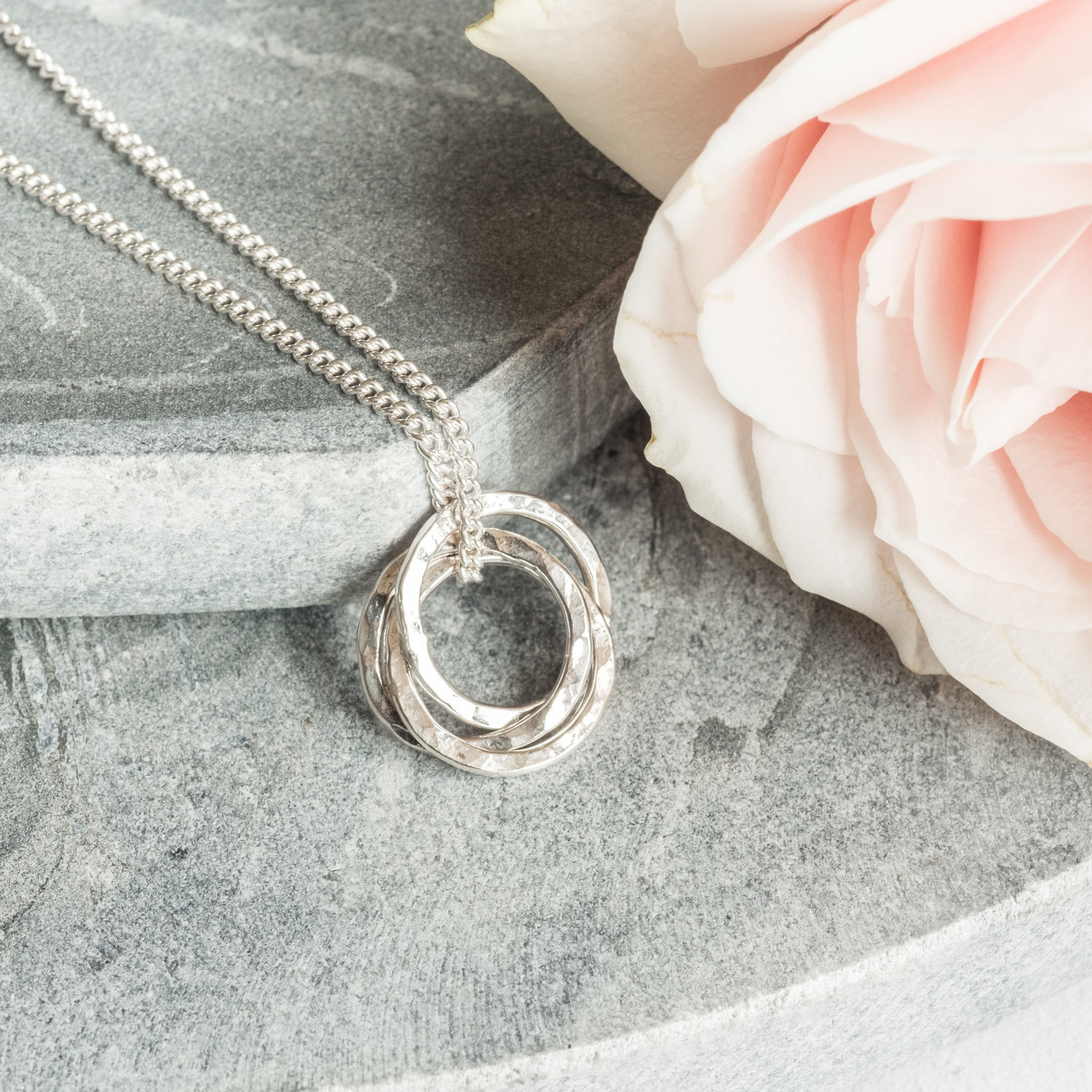 Russian Ring Necklace, £40