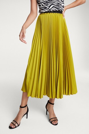 F&F, Lime Pleat £22