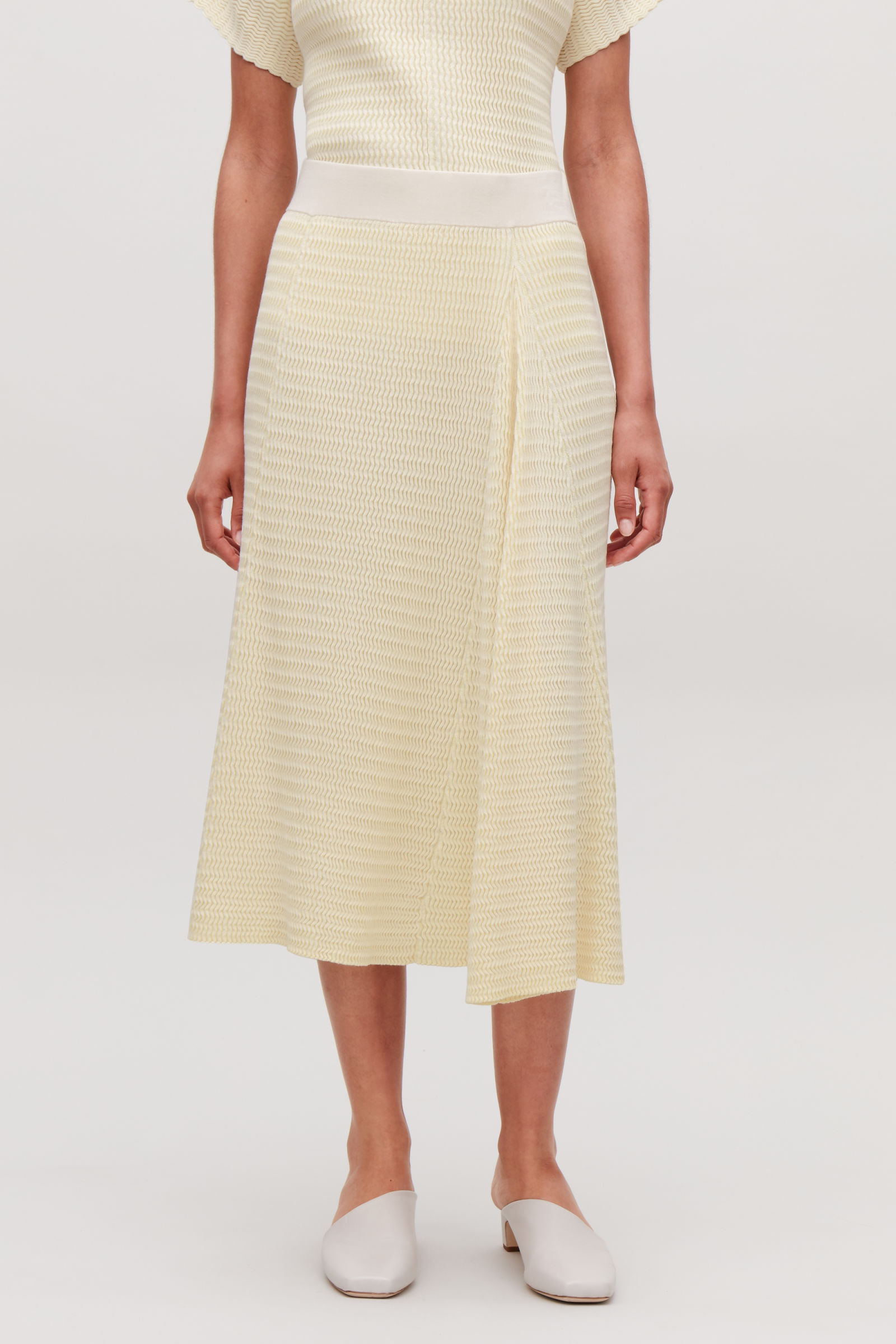 Cos, Wave Stitch Skirt £69