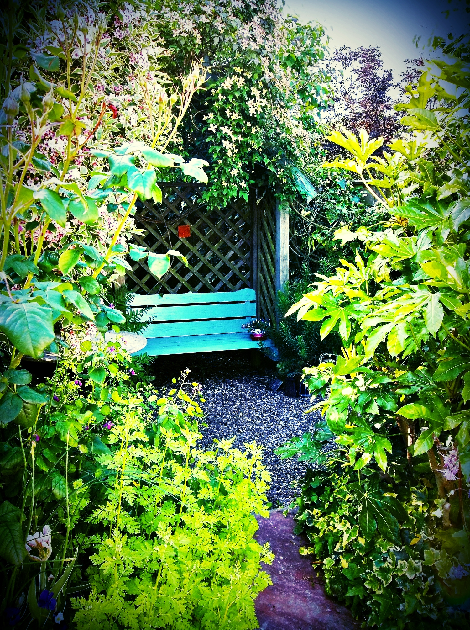 An invitation to sit and ponder, surrounded by bird song and wildlife