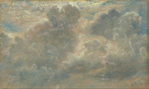 Cloud Study, John Constable. [Public domain], via Wikimedia Commons