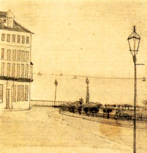 View of Royal Road, Ramsgate,  1876, age 23