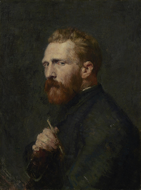 Van Gogh on the cusp of his greatest work; painted by his friend, Australian artist John Peter Russell in Paris, 1886