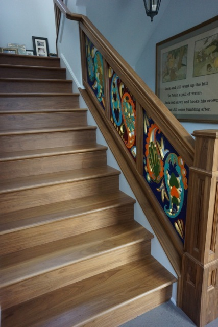 Kitty coles Designs custom banisters