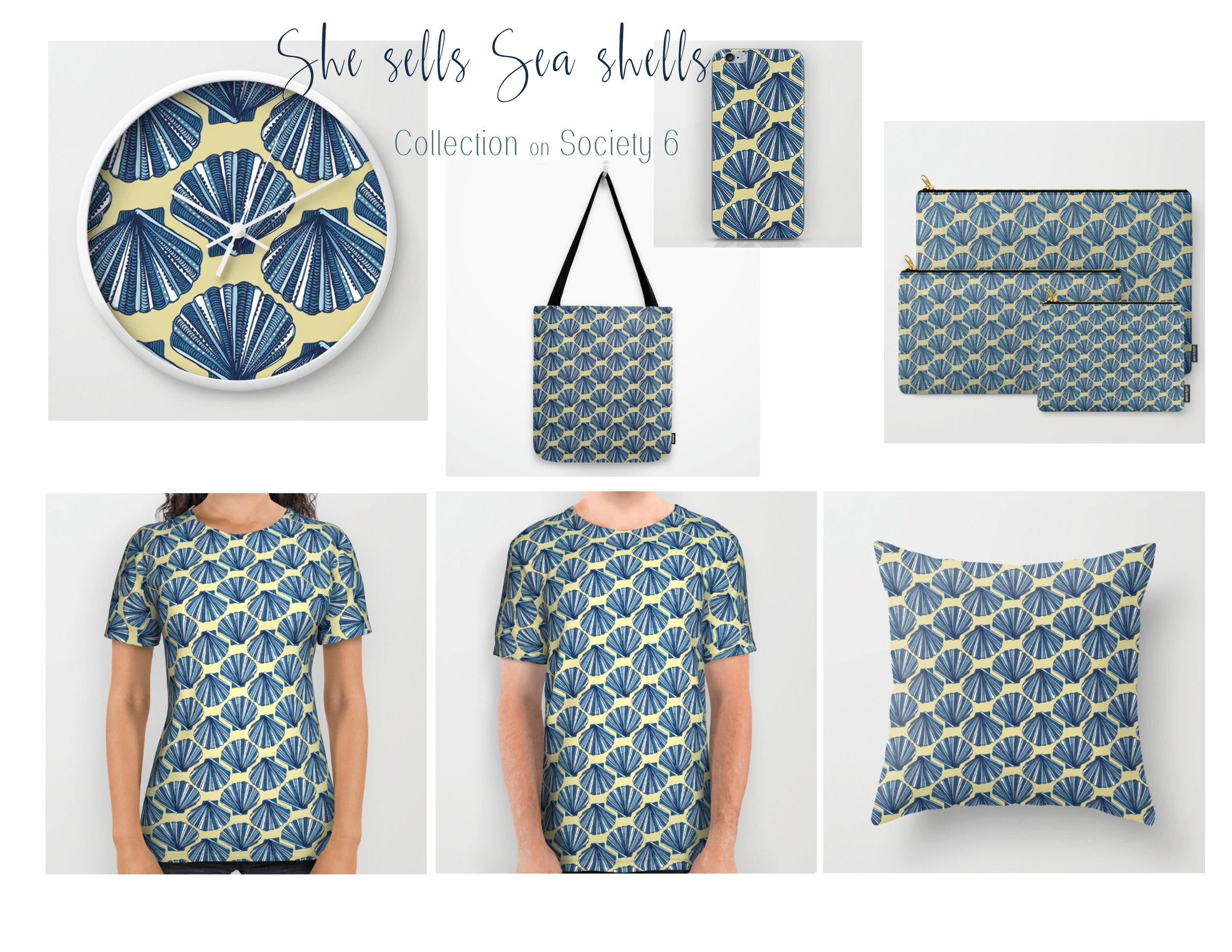 She sells sea shells KCD
