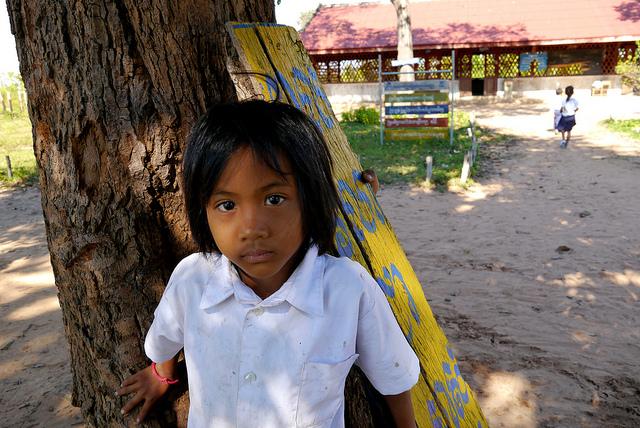 Cambodia--Clean Water, Footwear, & School Supplies