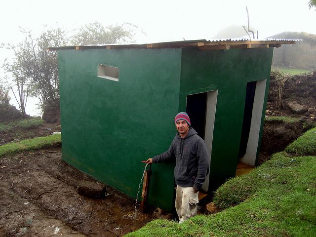 Three Villages--clean water/restrooms